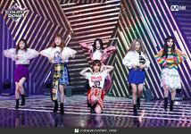 M Countdown LATATA Stage Gidle 5