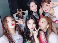 20180505 (G)I-DLE SNS Update