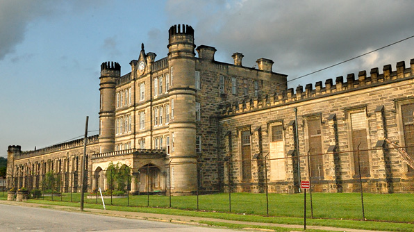 West Virginia Penitentiary Paranormal Challenge Ghost
