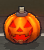 PumpkinBomb Item