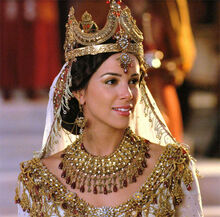 Esther Persian Empress Shahbanu in One Night with the King Movie 2006