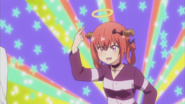 Satania pretending to be an angel