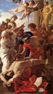 The Martyrdom of St. Erasmus