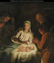 The Adoration of the Shepherds - a fragment