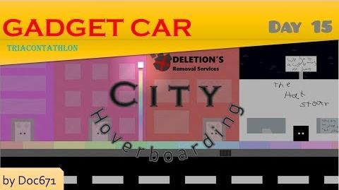 Gadget Car Triacontathlon - Day 15