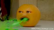 Orange barfs