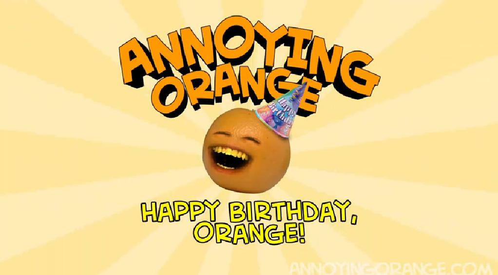 Annoying orange happy birthday gagfilms wiki fandom powered by aohb title card bookmarktalkfo Images