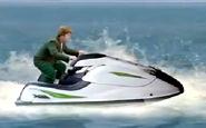 Liam on a jet ski