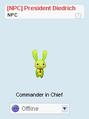 Easter2k13 Avatar PresidentDiedrich