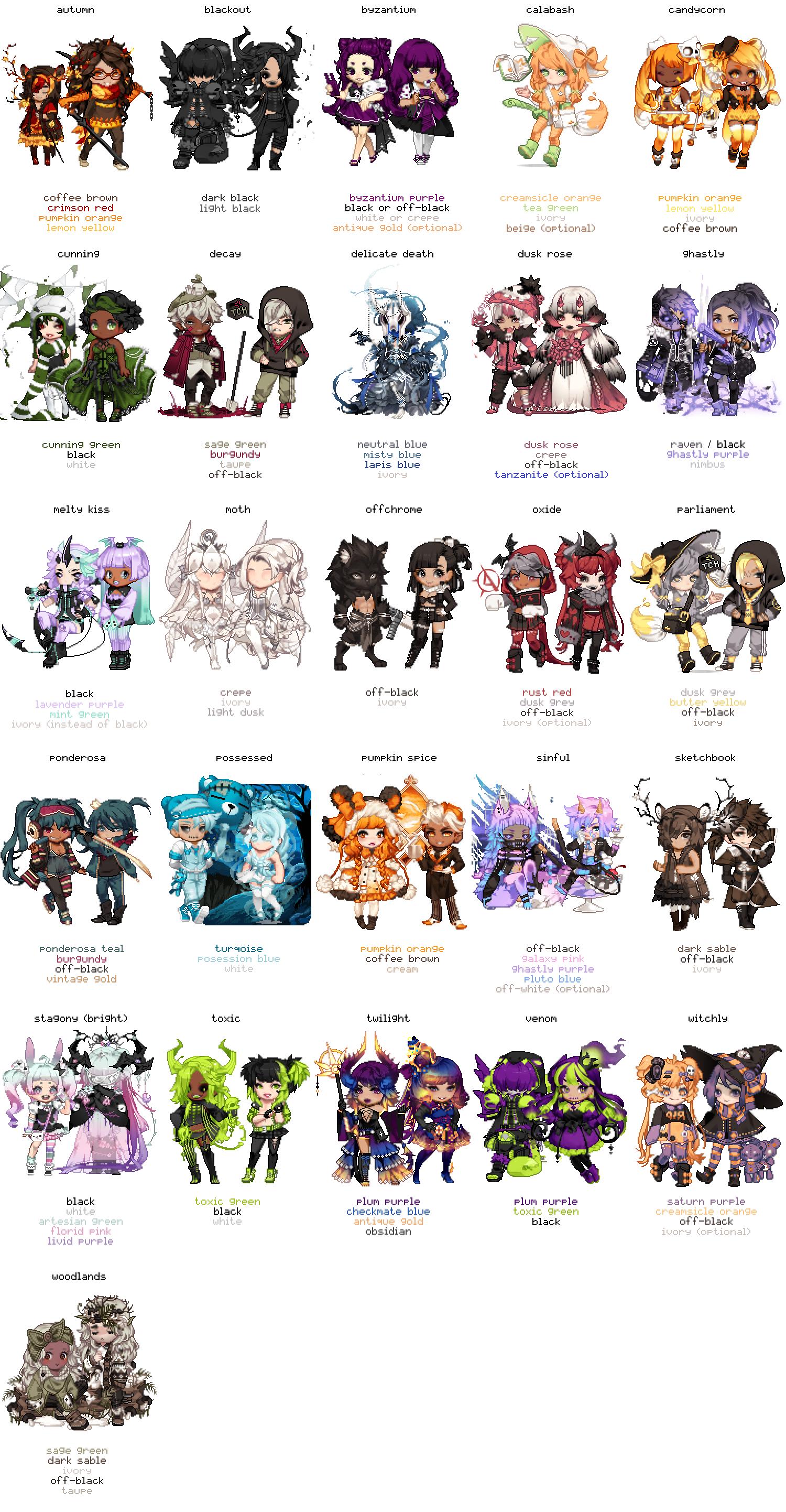 Color Scheme Gaiapedia Fandom Powered By Wikia
