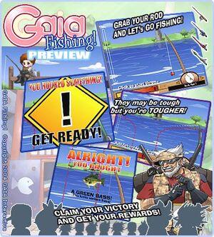 Gaia Fishing promo