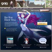Gaiaonline homepage 2008