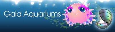 Aqua banner aquariums