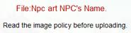 Npc art NPC's Name