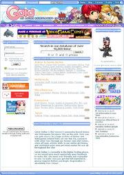 Gaiaonline homepage 2004 2