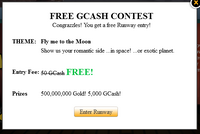 Capture free gaia runway entry
