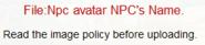 Npc avatar NPC's Name