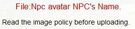 NPC avatar