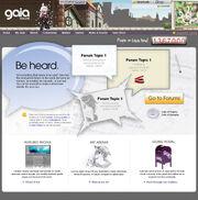 Gaiaonline homepage 2008 2