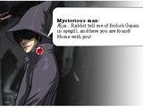 Dark Reflection: Mysterious Man
