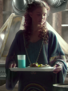 Padmé blue milk