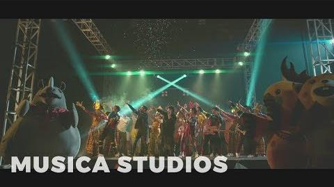 NEV+ Ariel & Dea - Janger Persahabatan (Official Video) Official Song Asian Games 2018