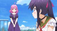 Kurumi remembers being invited to the club