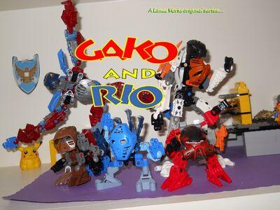 Gako and RIo Banner