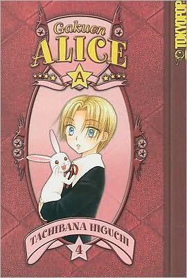 Gakuen Alice Manga v04 en cover