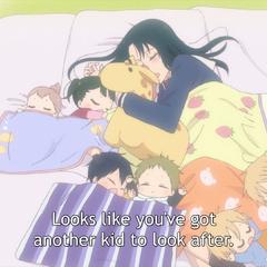 Inomata Sleeping with the Kids (Episode 2)