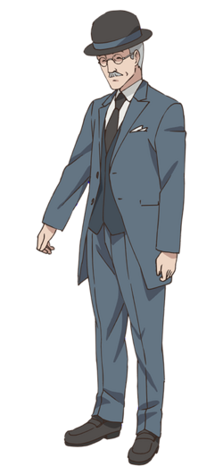 Gustave Malraux Character Art