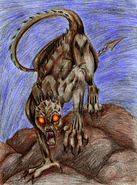 Devil Tailed Chupacabra