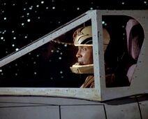 Boomer in cockpit