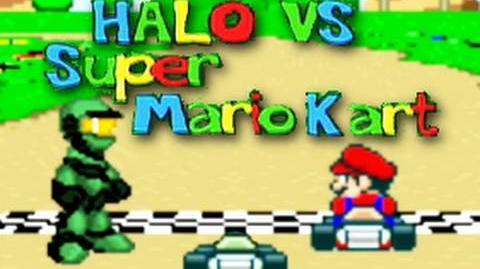 Halo vs. Super Mario Kart (Machinima)