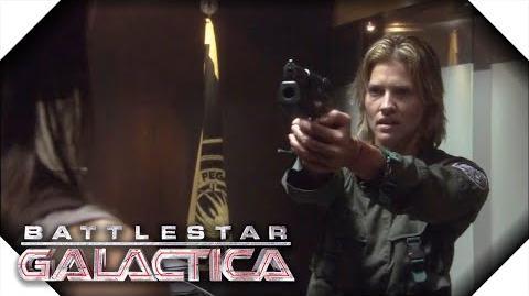 Battlestar Galactica Number 6 Kills Admiral Cain