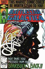 Battlestar Galactica 19 Marvel