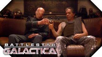 Battlestar Galactica Abandoning Ship