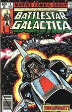 Battlestar Galactica 4 Marvel