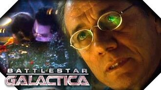 Battlestar Galactica Tyrol And Cally Are Trapped At The Airlock 12