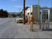 Galactica Discovers Earth - Confused by pay phone
