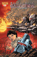 Battlestar Galactica Zarek Issue 1 Batista cover