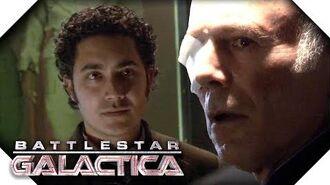 Battlestar Galactica Saul Wants Gaeta's Head