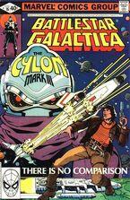 Battlestar Galactica 16 Marvel