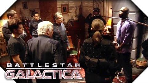 Battlestar Galactica Sick Cylons Give Lee Adama An Idea