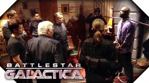 Battlestar Galactica Sick Cylons Give Lee Adama An Idea