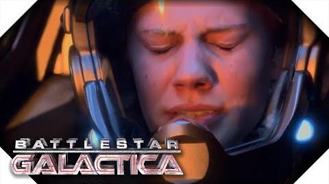 Battlestar Galactica The Olympic Destroyed