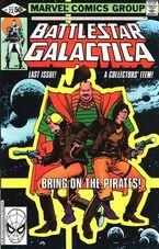 Battlestar Galactica 23 Marvel