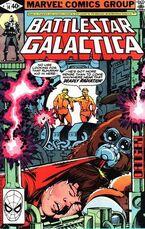 Battlestar Galactica 14 Marvel