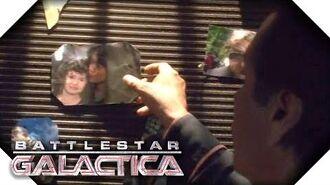 Battlestar Galactica Leaving the Memorial Wall