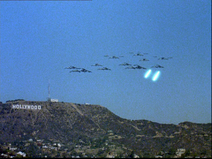 Galactica Discovers Earth - Los Angeles simulation 1